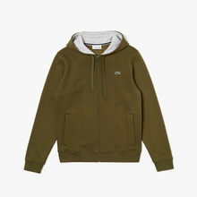 LACOSTE Fleece Full Zip Hoodie - Village Mart
