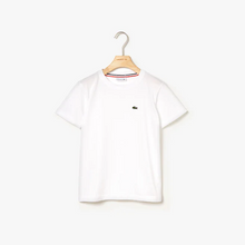 LACOSTE Boys' Crew Neck Cotton Jersey T-shirt - Village Mart