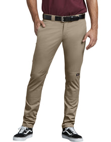 DICKIES FLEX Skinny Straight Fit Double Knee Work Pants - Village Mart
