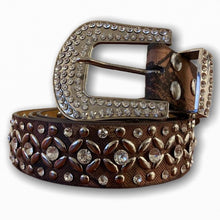 BIG BUCKLE CAMO ALL OVER STONE BELT