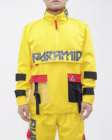 BLACK PYRAMID Clear Pocket Windbreaker - Village Mart