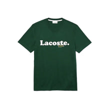 LACOSTE Crocodile Branded Cotton T-shirt