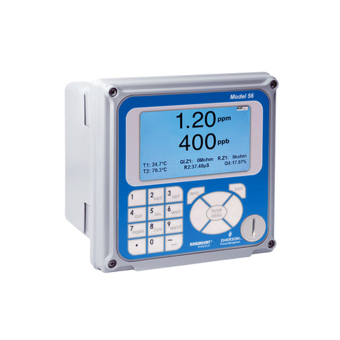 Rosemount™ 56032032HT Transmitter with One Contacting Conductivity and One pH/ORP Measurement
