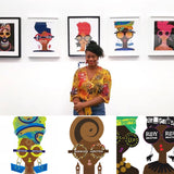 Akeisha Walters gallery exhibit