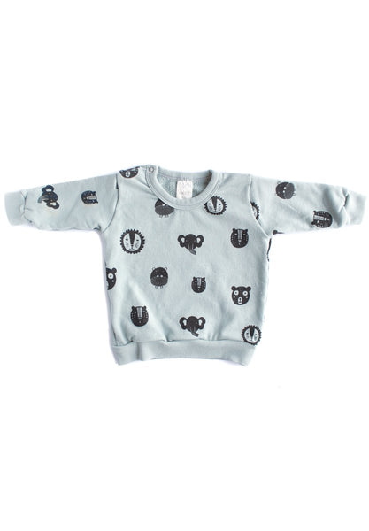 Animals Organic Sweatshirt