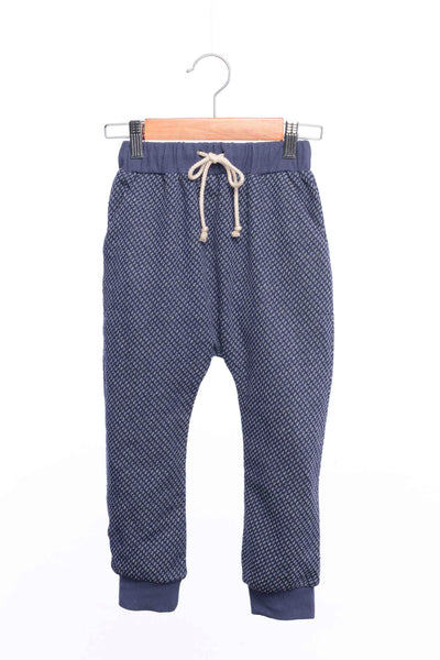 Ink Dot Blue Sweatpants