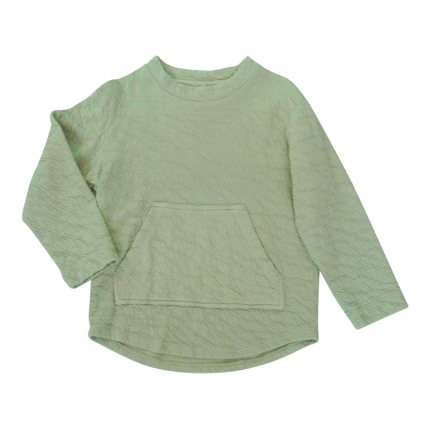 Clear Pullover - Sage