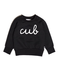 Cub Sweatshirt, Black