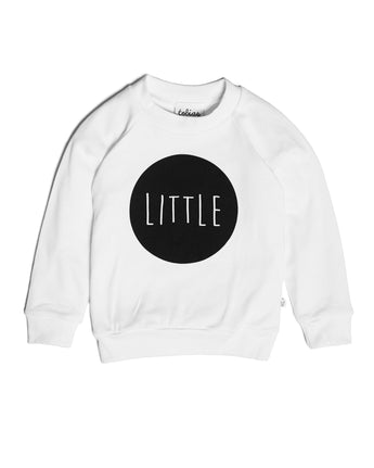 Little Lightweight Sweatshirt, White
