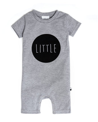 Little Short Romper, Grey