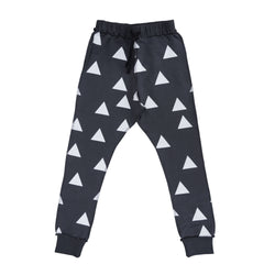 Triangle Skinny Pants, Nearly Black