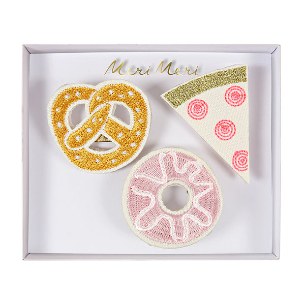 Snack Brooches