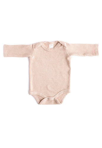 Thermal Organic Onesie - Dusty Rose