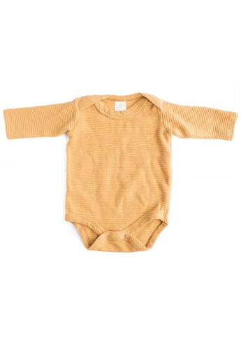 Thermal Organic Onesie - Gold