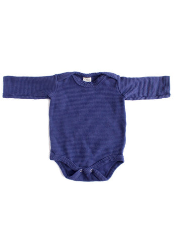 Thermal Organic Onesie - Midnight