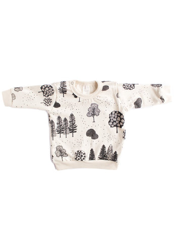 Trees Organic Sweatshirt