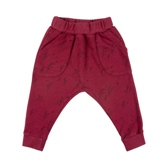 Winter Storm Terry Jogger - Tibetan Red