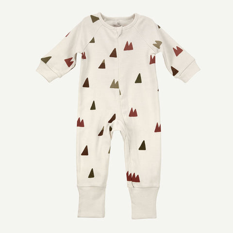 Mountain Print Unionsuit