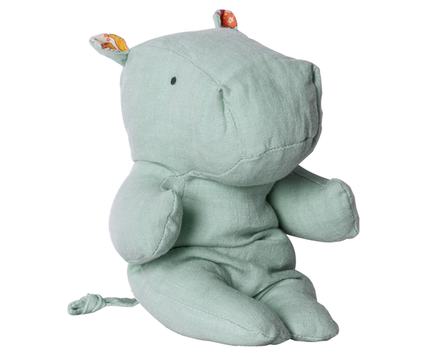Little Hippo Plush, Blue