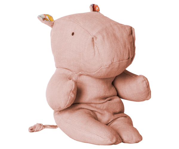 Little Hippo Plush, Rose