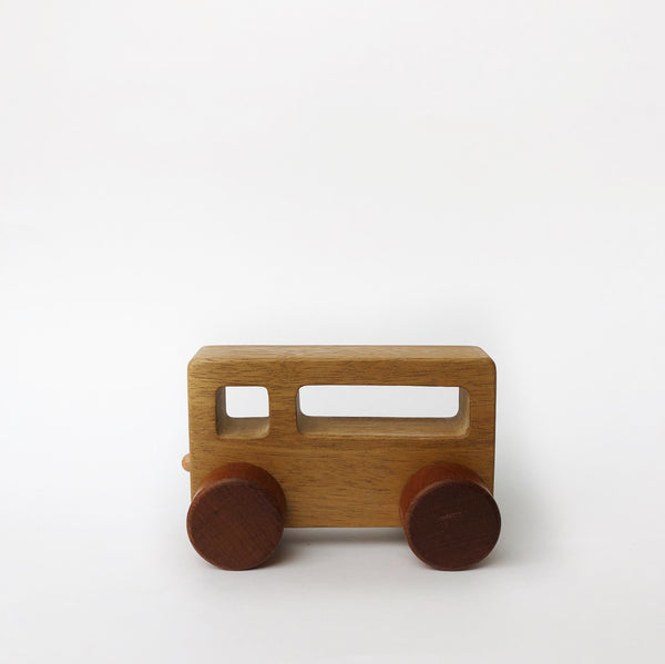 Rectangle Wood Shape Car