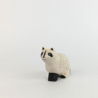Wooden Animal - Raccoon