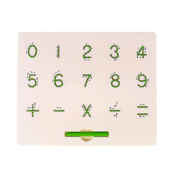 Magenetic Alphabet Learning Board-Numbers