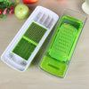 Vegetable Potato Slicer Grater - Cutter for Tomato, Onion, Cucumber, Zucchini Pasta, Cheese