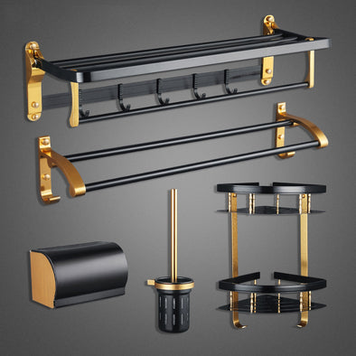 5PCS Bathroom Hardware Accessories Set