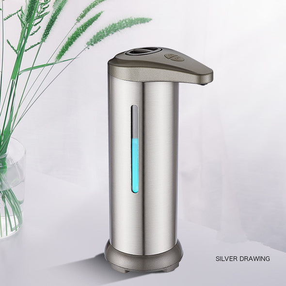 Electric Stainless Steel Infrared Automatic Soap Dispenser