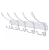 Wall Mounted Stainless Steel Coat Rack 5 Hooks