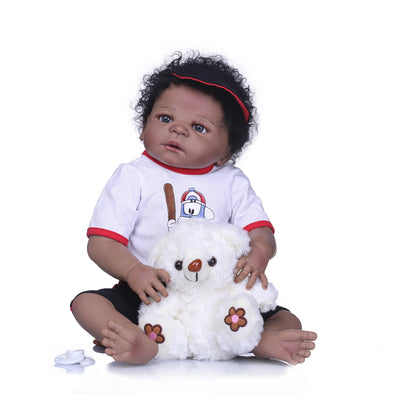 African American Reborn Baby Dolls 22 inch/Toys Age 3+