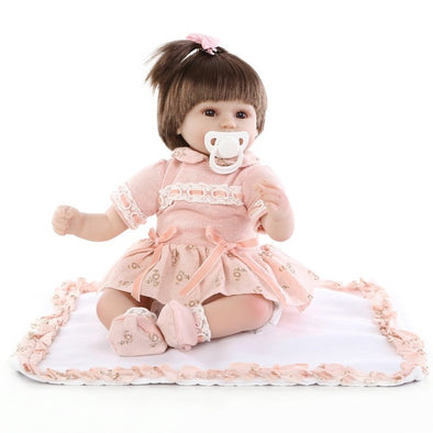 "17"" Reborn Baby Doll-03(2019 new arrival)"
