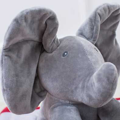 Peek A Boo Elphant/Bear Plush Toy Age 0+