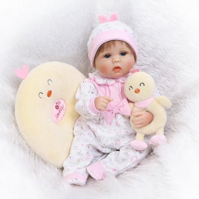 "16"" Reborn Baby Doll-02(2019 new arrival)"