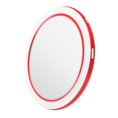 Light Adjustable Makeup Mirror with Wireless Charger Function