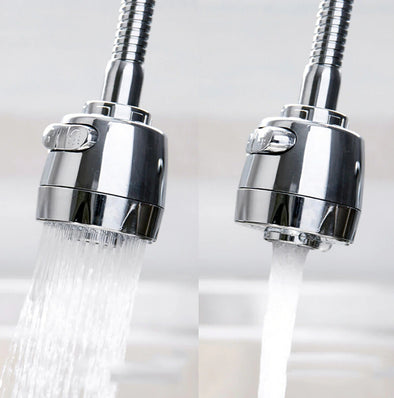 360-Degree Swivel Kitchen Sink faucet Aerator with 2 Function