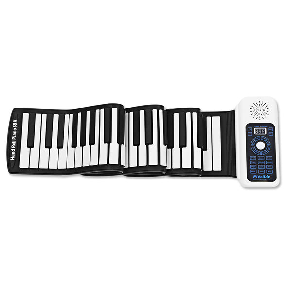 61/88 keys roll up rechargeable piano