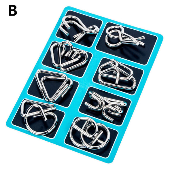 Brain Teasers Toy-Metal Wire Puzzles