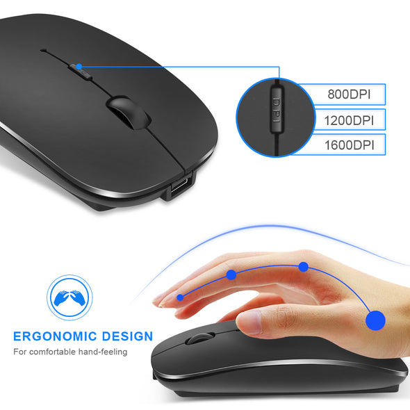 Bluetooth Wireless Rechargeable Mouse