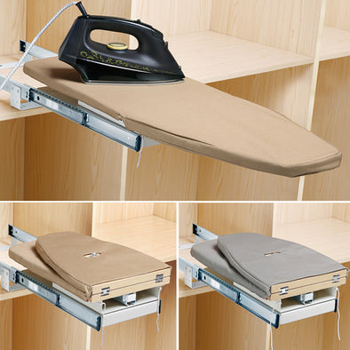Closet Pull-Out Retractable Space Saving Ironing Board