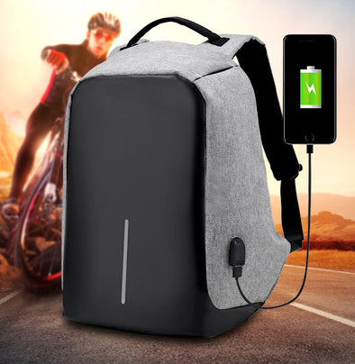 Anti Theft Charging Backpack