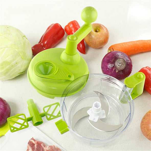 Vegetable Fruits Chopped Shredders & Slicers,1500 ml