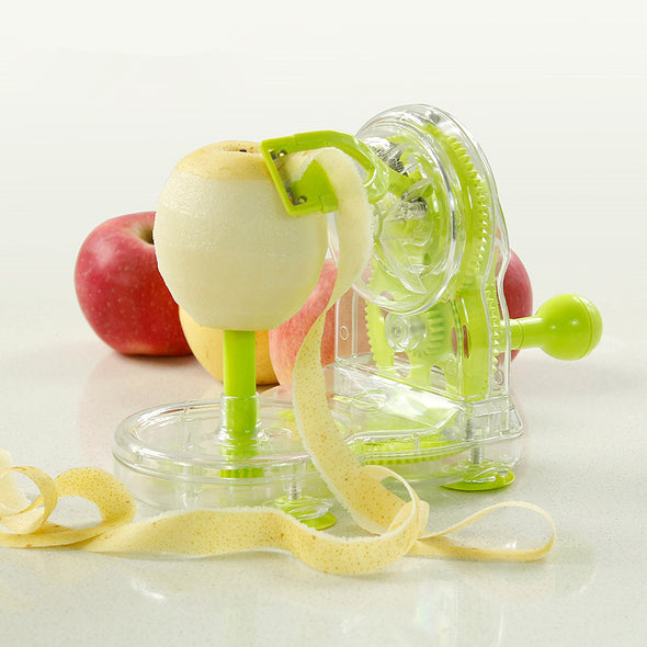 Transparent Fresh Fruit Green With Stainless Steel Blade  Peeler
