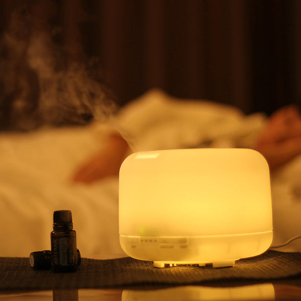 500ml  Ultrasonic Aroma Essential Oil Diffuser