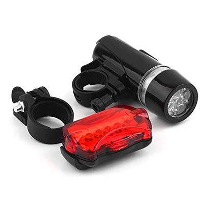 Bicycle Light Set Super Bright 5 LED Headlight