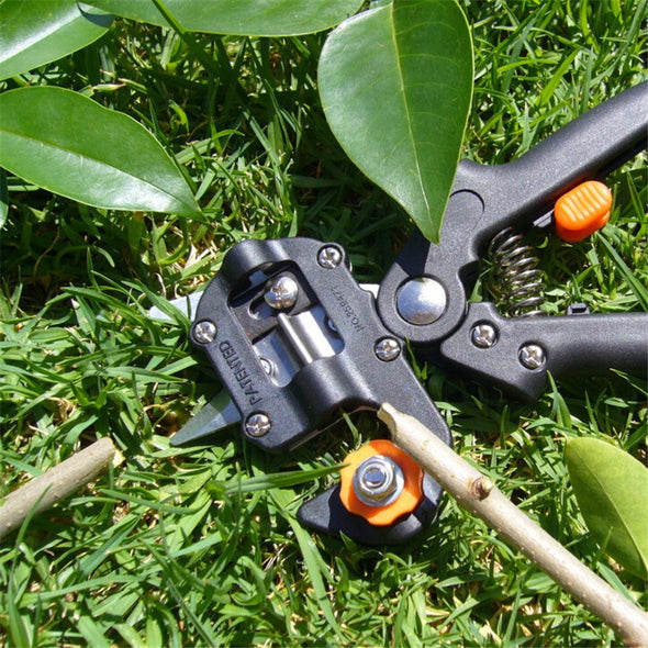 Garden Grafting Pruning Pruner Tool Kit Set Shear Omega-Cut U-Cut V-Cut