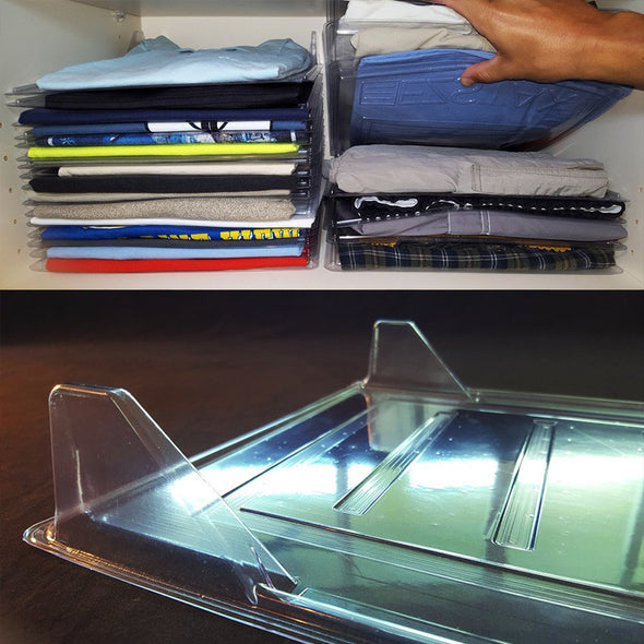 Clothes Flolder and Organizer System