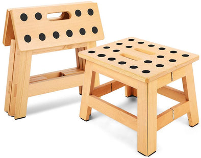 Handmade Foldable Wooden Stool