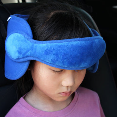 Adjustable Toddler Car Seat Head Support Band